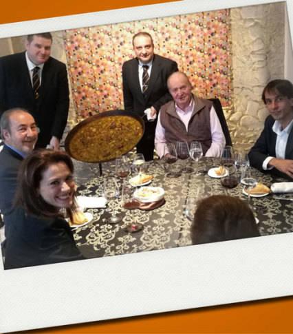 Foto de Don Juan Carlos retoma su agenda gourmet junto a la infanta Margarita