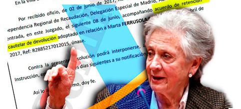 Foto de A Marta Ferrusola le sale la declaración a devolver... y Hacienda ordena retenérsela
